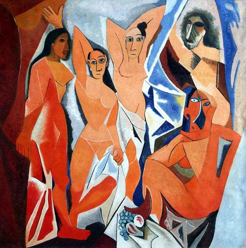 Bức Les Demoiselles d'Avignon