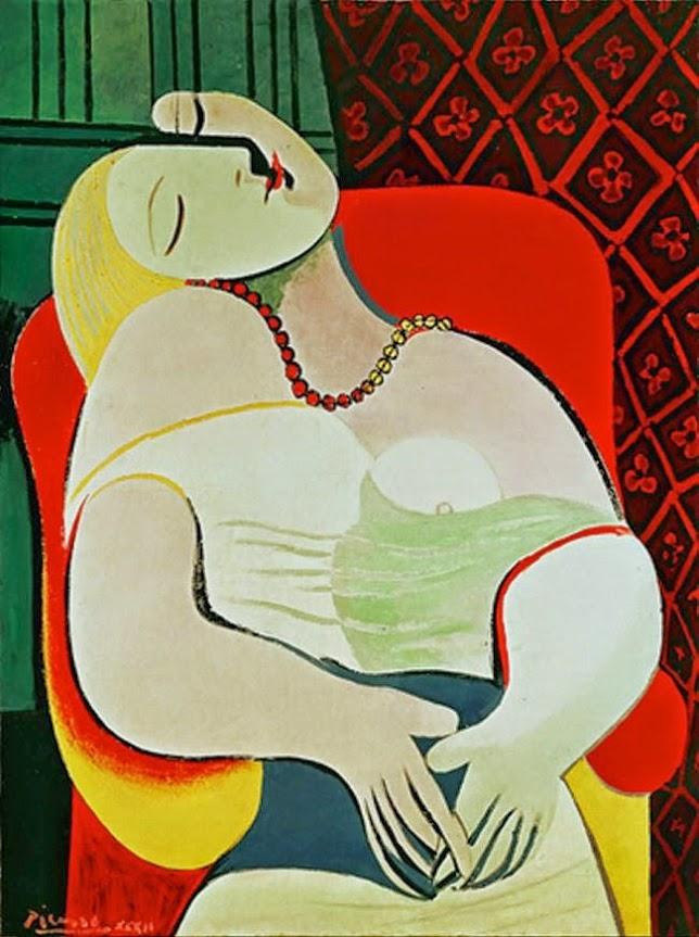Khám phá tai nạn bức tranh Le Rêve – Picasso | Nghệ Thuật Xưa